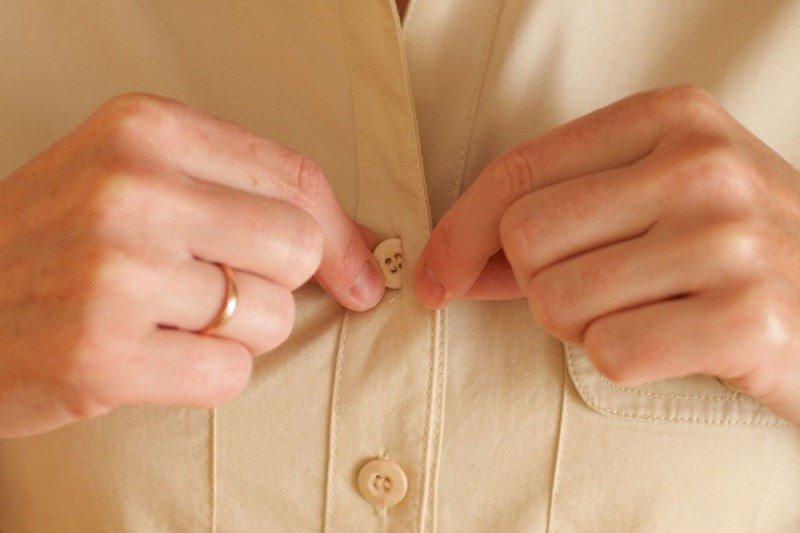Bảo quản cúc áo